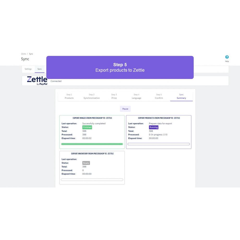 module - Платежи и платежные системы - Zettle by PayPal POS - 5