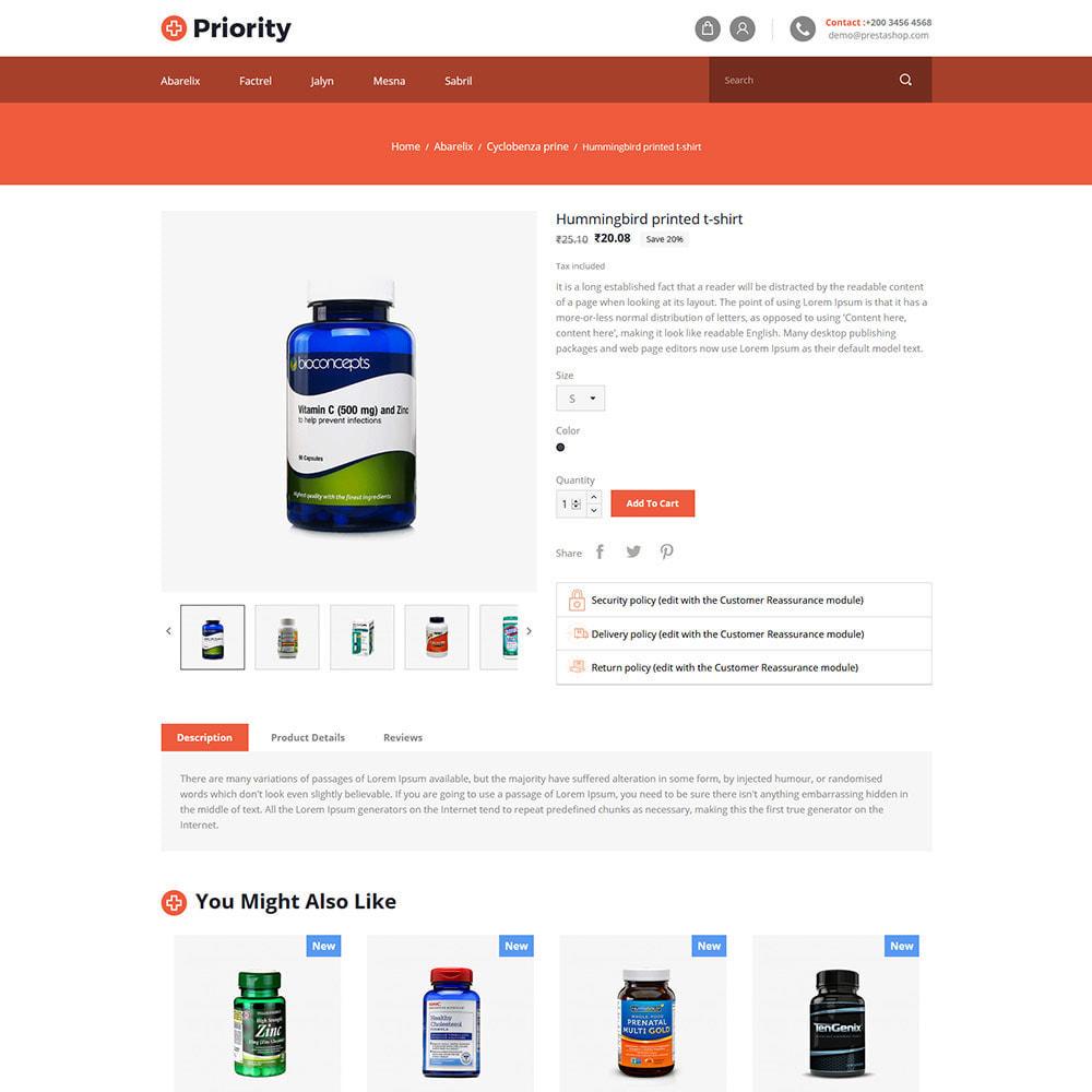 theme - Health & Beauty - Priority Medical Health - Medicine Store - 5