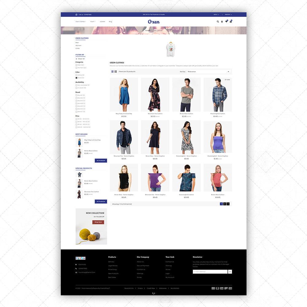theme - Fashion & Shoes - Oxen - 3