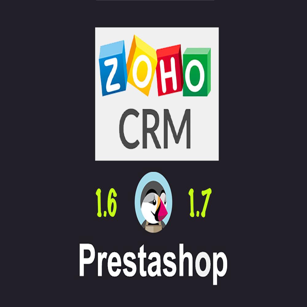 module - Connexion à un logiciel tiers (CRM, ERP...) - Zoho CRM - 1