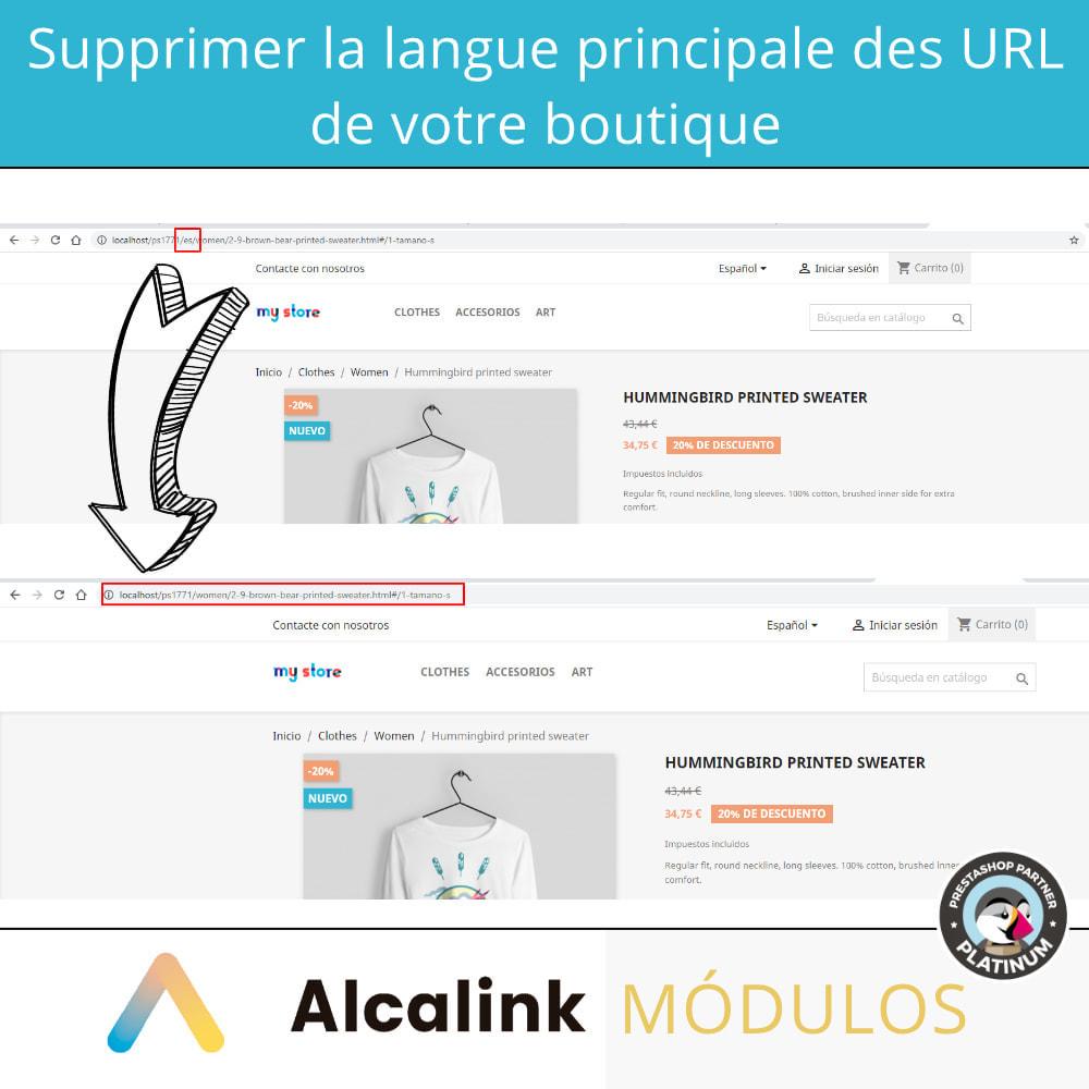 module - URL & Redirections - Supprimer la langue hôte de l'URL - SEO - 2