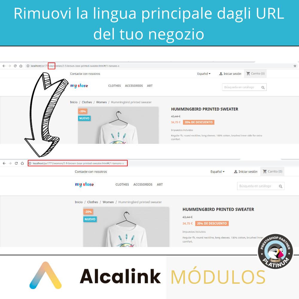 module - URL & Redirect - Rimuovi la lingua host dall'URL - SEO - 2