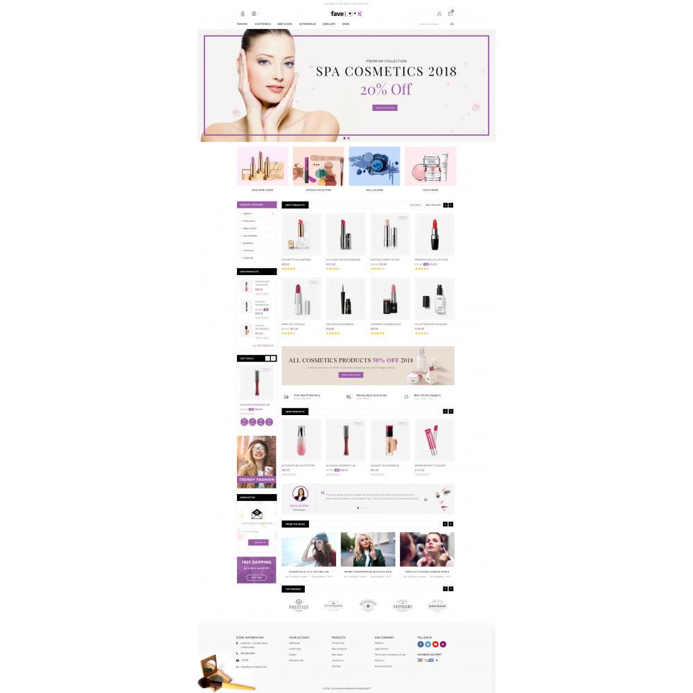theme - Gezondheid & Schoonheid - Favelook - Beauty Store - 2