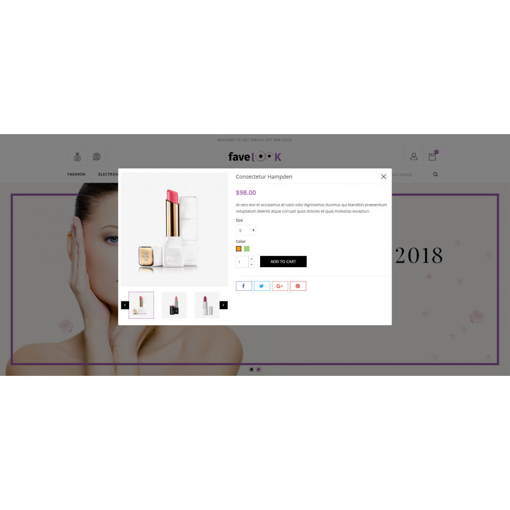 theme - Santé & Beauté - Favelook - Beauty Store - 7