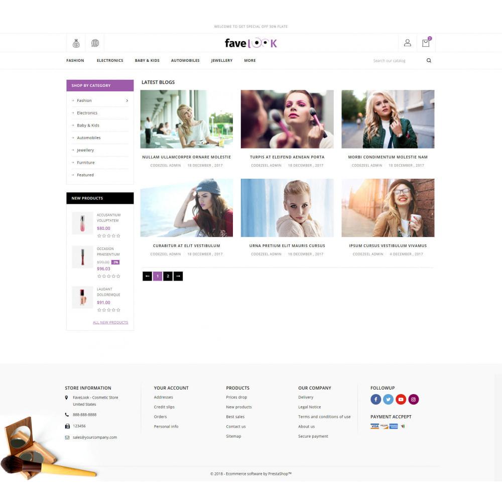 theme - Santé & Beauté - Favelook - Beauty Store - 9