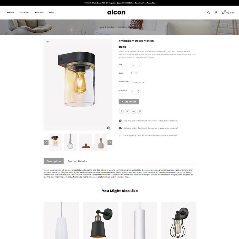 theme - Casa & Jardins - Alcon - Lighting Store - 4