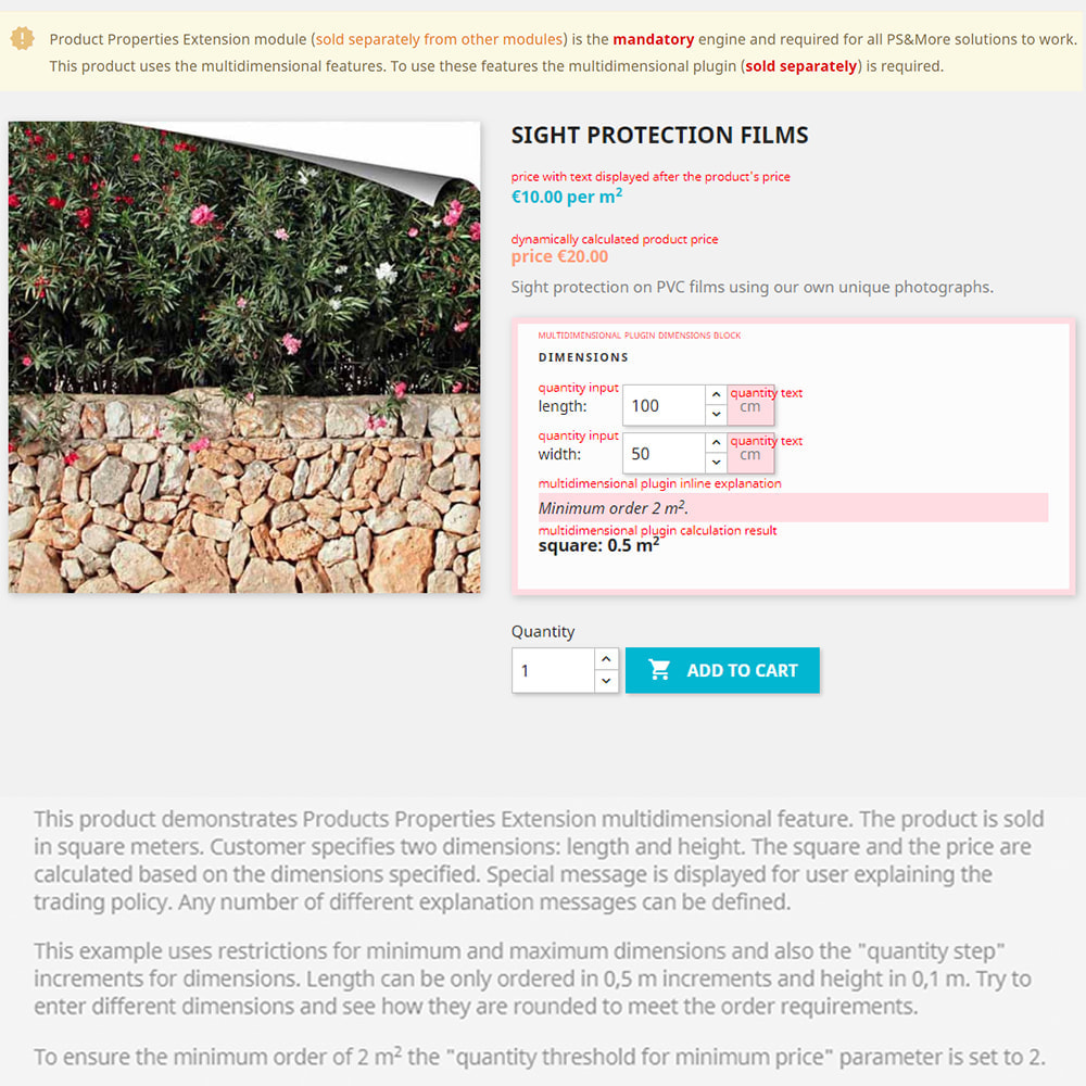module - Grandezze & Unità di misura - Product Properties Extension Multidimensional Basic - 6