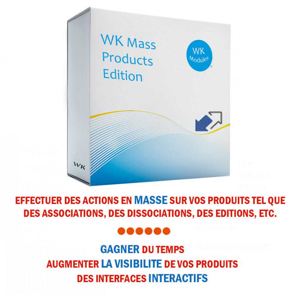 module - Edition rapide & Edition de masse - WK Edition Produits en Masse - 1