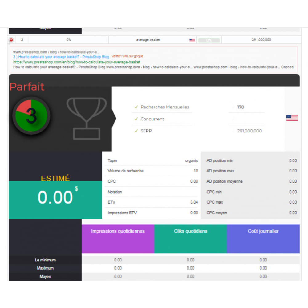 module - Analytics & Statistics - Module Prestashop SEO Analytics - 20