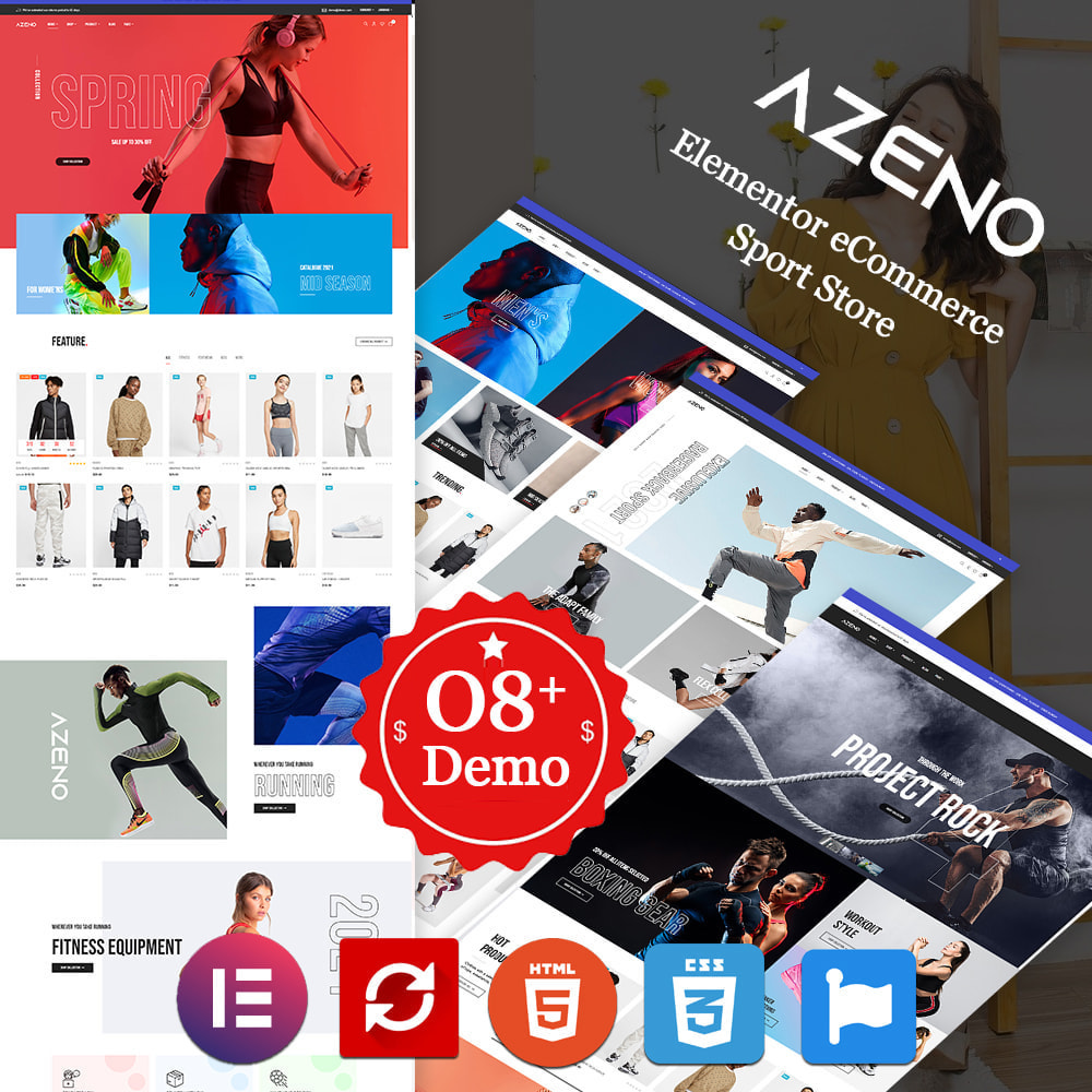 theme - Moda y Calzado - Azeno – Fashion & Sport Store - 1