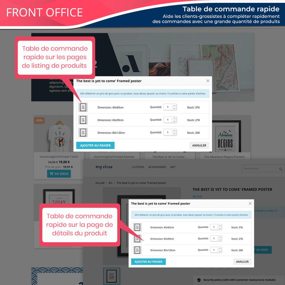 module - Ventes Flash & Ventes Privées - Wholesale B2B - Plateforme de vente en gros experte - 7