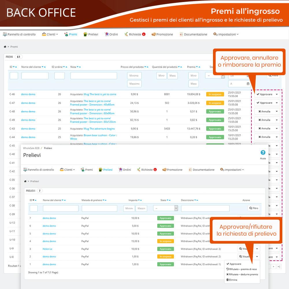 module - Flash & Private Sales - Wholesale B2B - Piattaforma all'ingrosso professionale - 16
