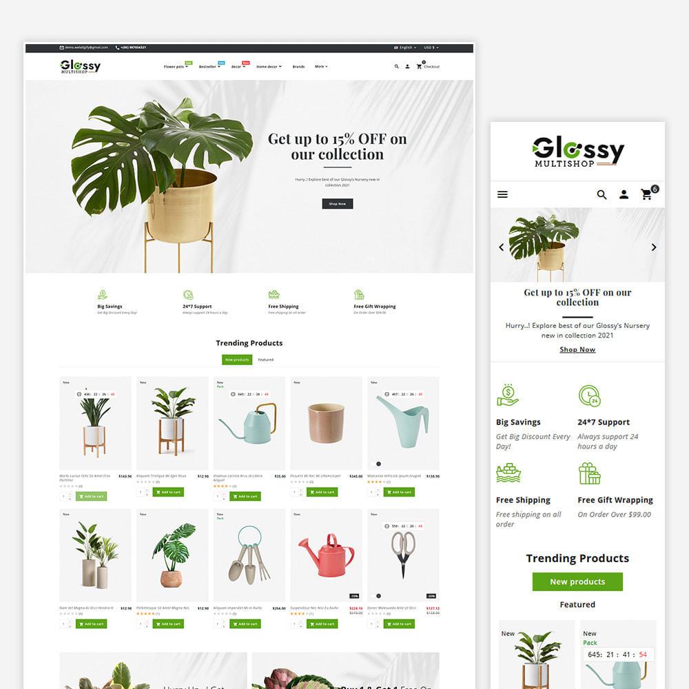 theme - Maison & Jardin - Glossy Nursery Plant & Tools - 2