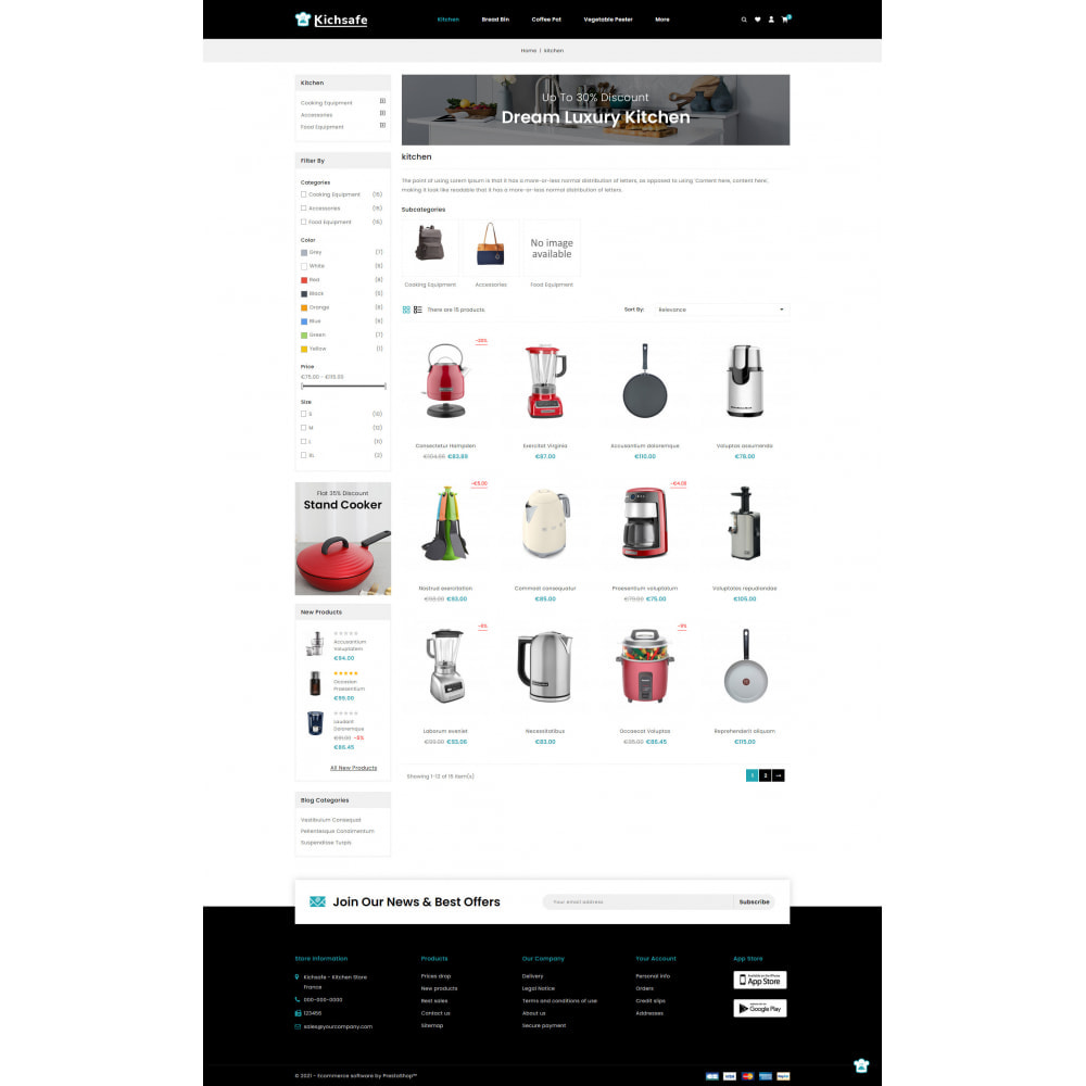theme - Home & Garden - Online Kitchen Store - 3