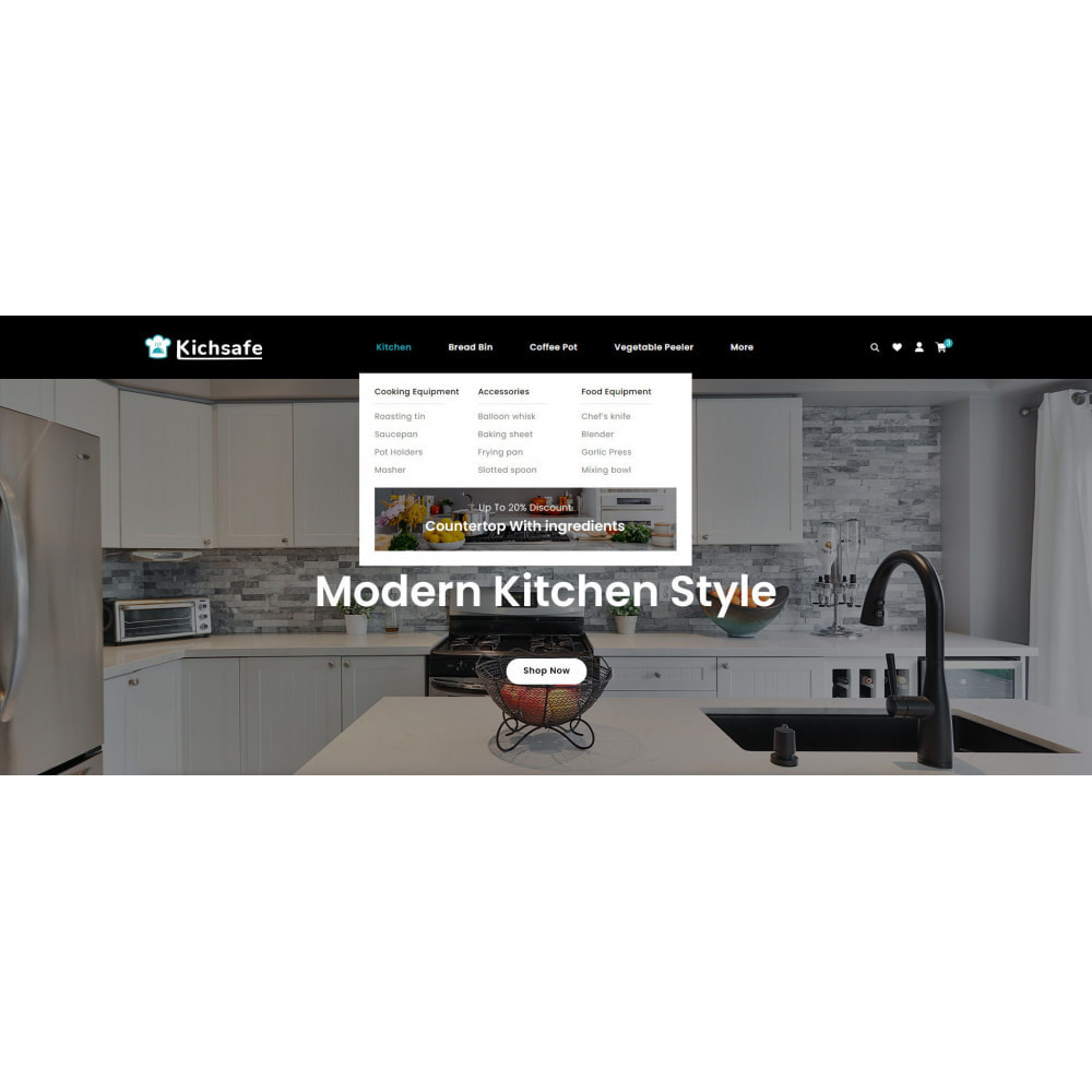 theme - Home & Garden - Online Kitchen Store - 8