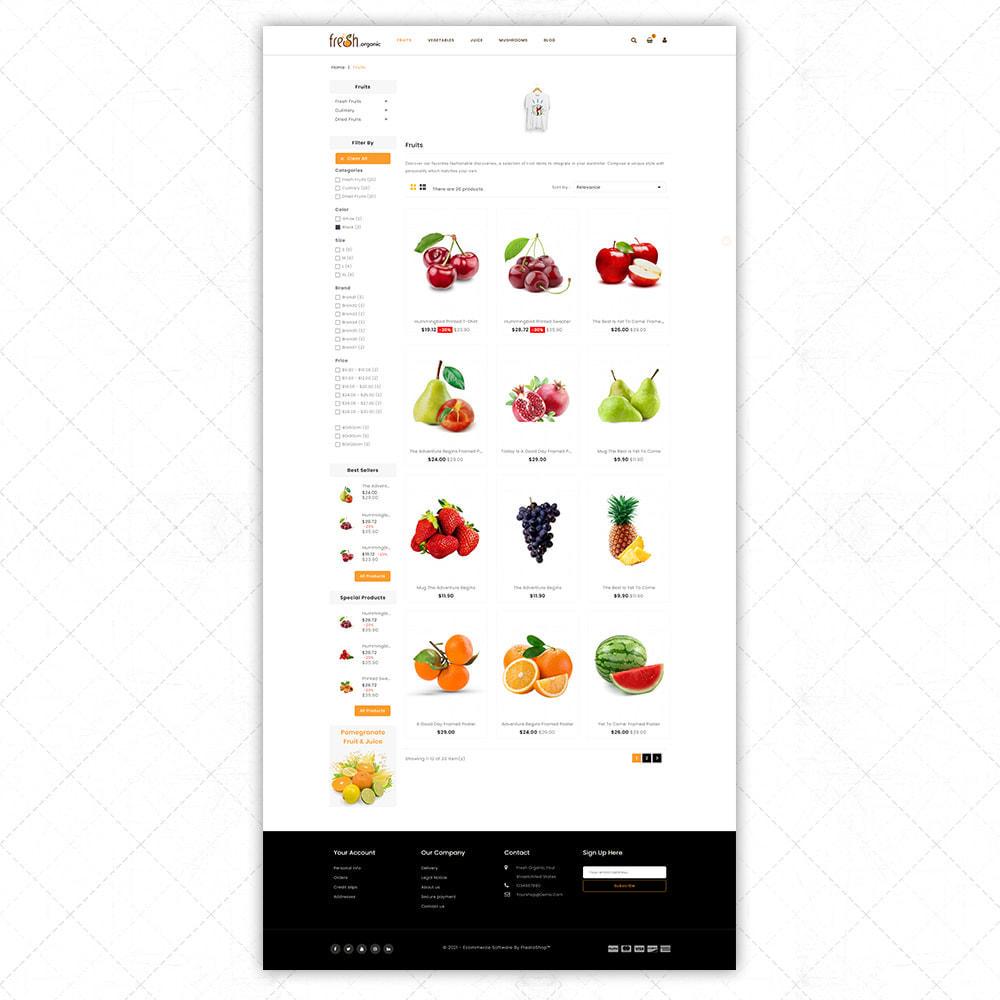 theme - Alimentos & Restaurantes - Organic Fresh - 3