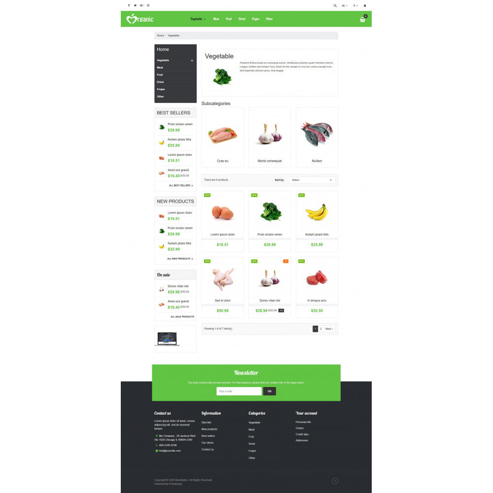 theme - Food & Restaurant - VP_Organic - Page Builder - 3