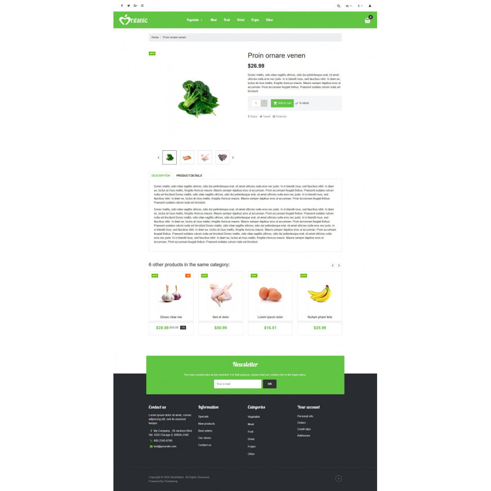 theme - Food & Restaurant - VP_Organic - Page Builder - 4