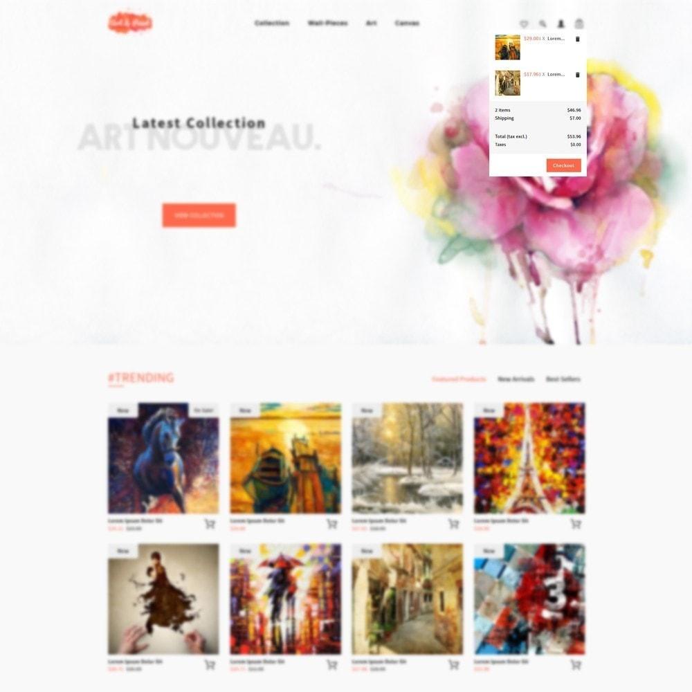 theme - Arte & Cultura - Art and Paint - 8