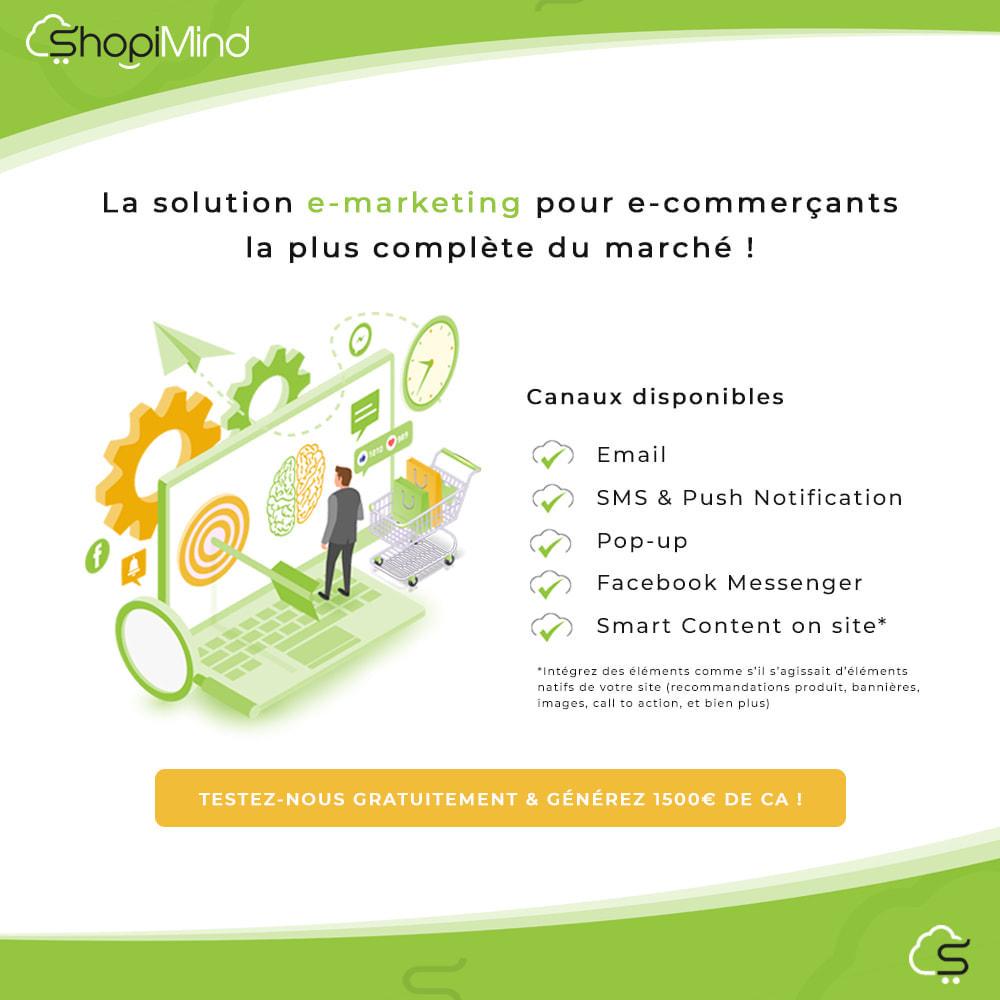 module - Remarketing & Paniers Abandonnés - ShopiMind - Marketing multicanal intelligent - 2
