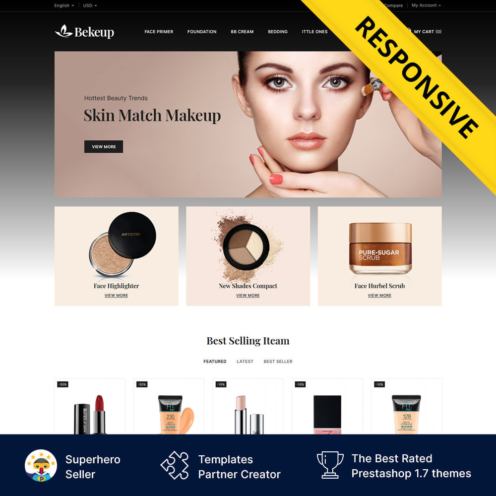 theme - Health & Beauty - Cosmetics Bekeup Store - 1