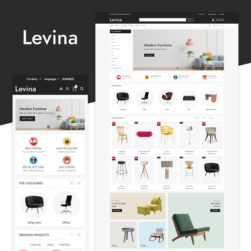 theme - Home & Garden - Levina - Furniture Responsive Store - 1