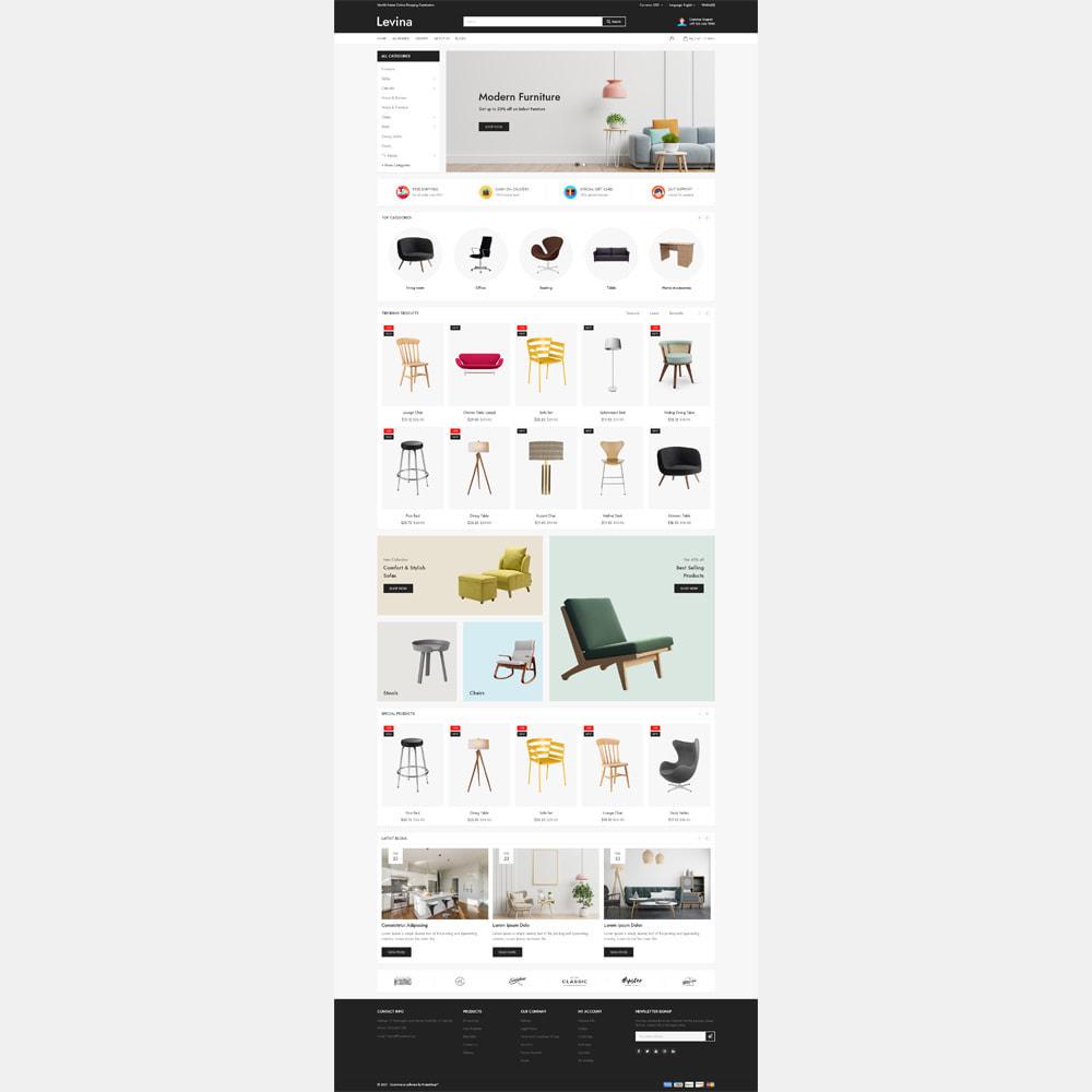 theme - Home & Garden - Levina - Furniture Responsive Store - 2
