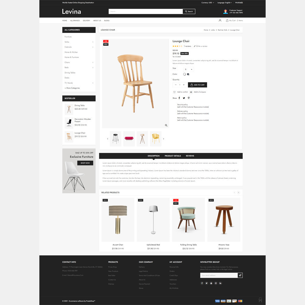 theme - Home & Garden - Levina - Furniture Responsive Store - 4