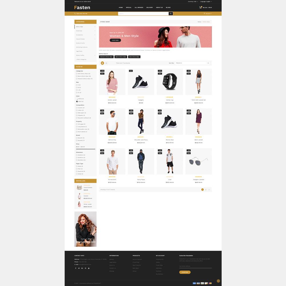 theme - Fashion & Shoes - Fasten - Fashion Responsive Store - 2