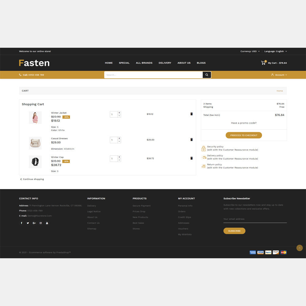 theme - Fashion & Shoes - Fasten - Fashion Responsive Store - 6
