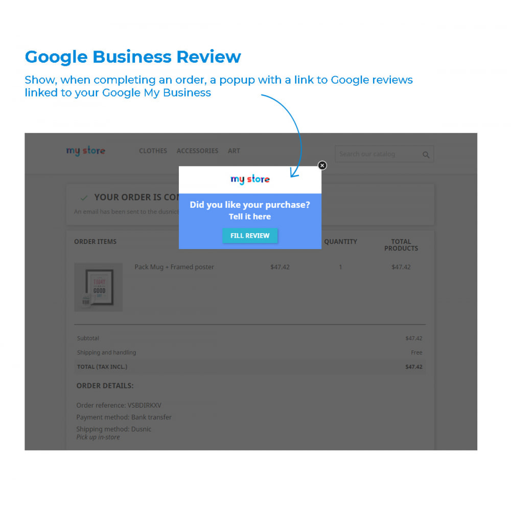 module - Customer Reviews - Easy get Google My Business Reviews - 2