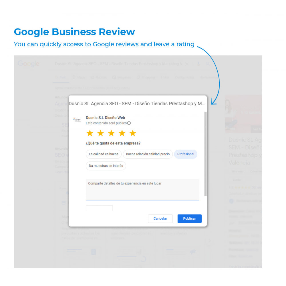module - Customer Reviews - Easy get Google My Business Reviews - 3