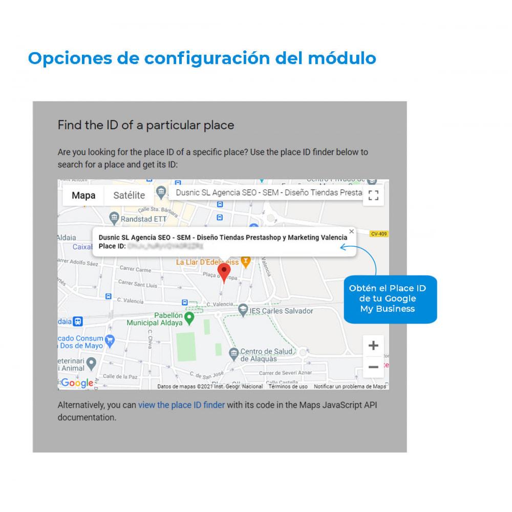 module - Comentarios de clientes - Obtén valoraciones y reseñas en Google - 4