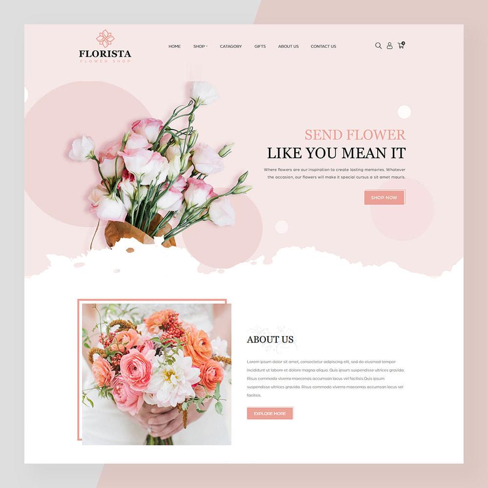 theme - Prezenty, Kwiaty & Uroczystości - Florista- Flower and Gift Store - 2