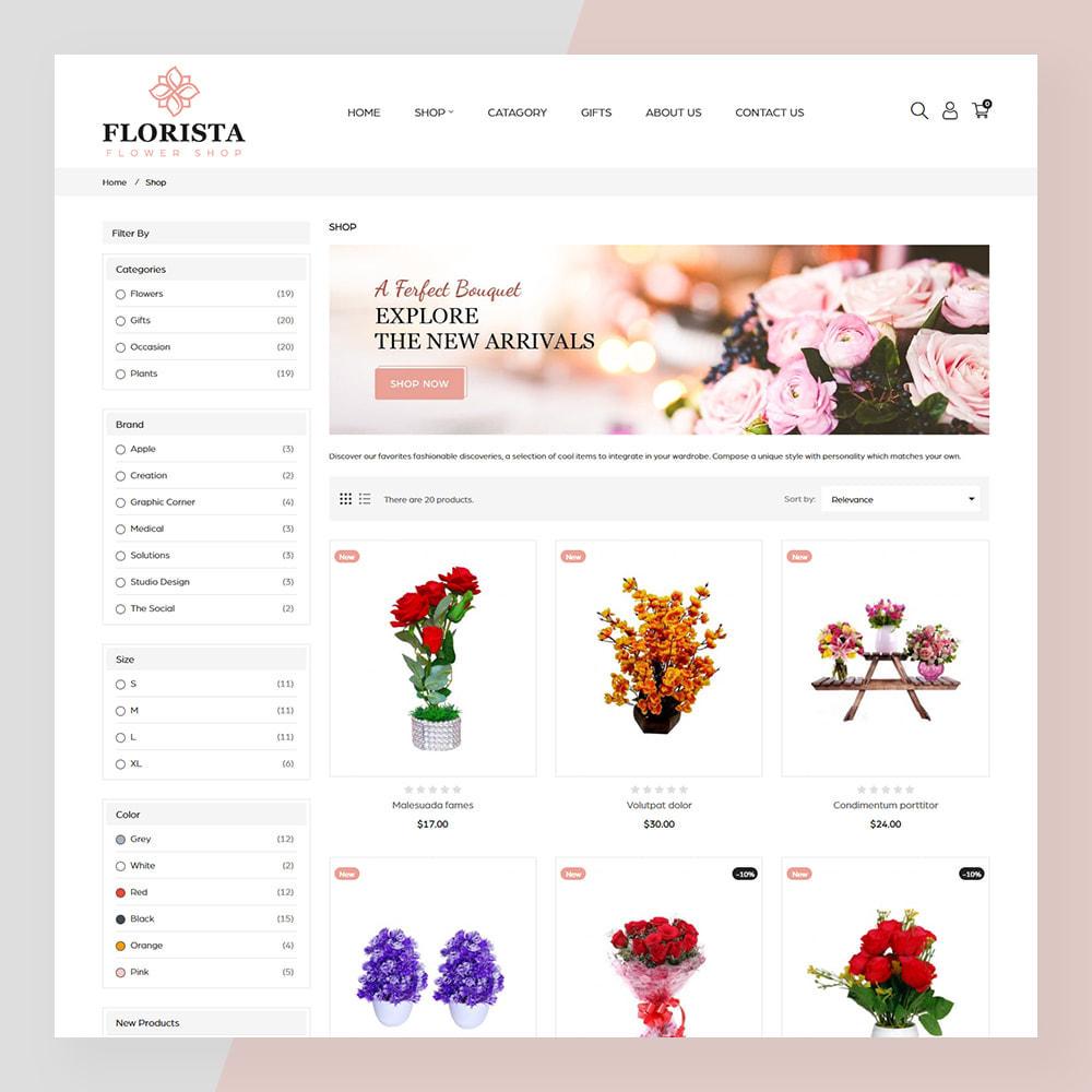 theme - Prezenty, Kwiaty & Uroczystości - Florista- Flower and Gift Store - 3