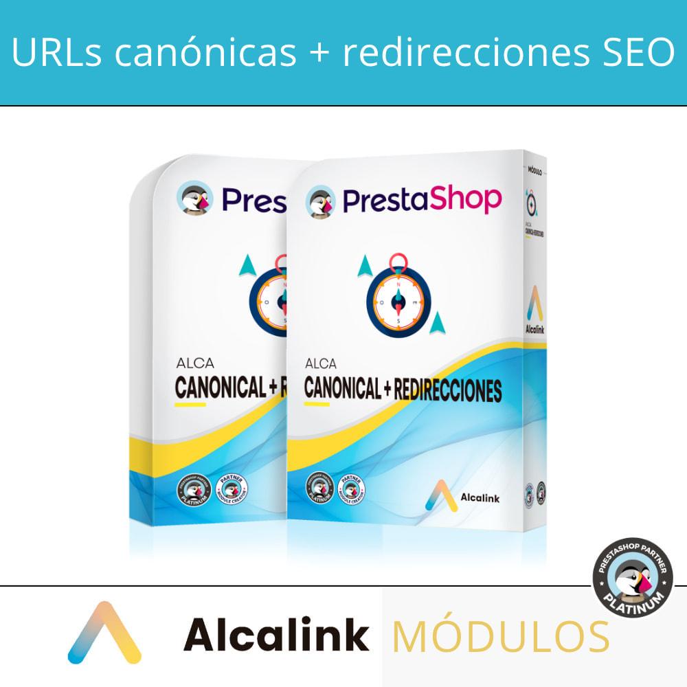module - URL y Redirecciones - 2x1: Canonical SEO + Redirecciones SEO - 1