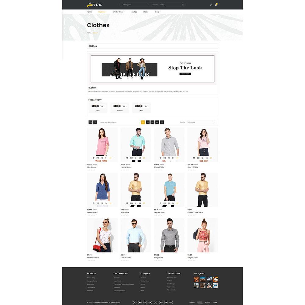 theme - Fashion & Shoes - Arrow–Fashion Store - 3