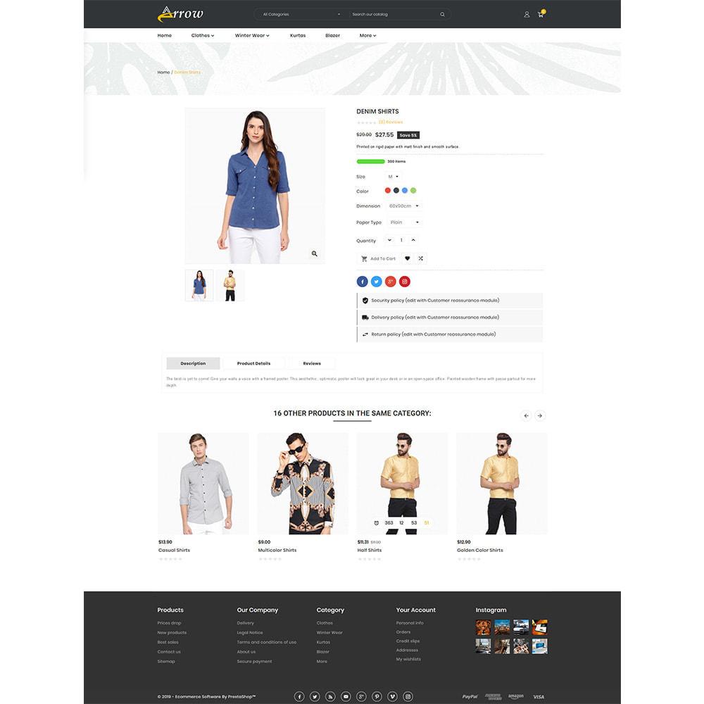 theme - Fashion & Shoes - Arrow–Fashion Store - 4