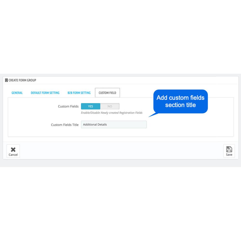 module - Registration & Ordering Process - B2B Custom Registration Forms Builder - 8