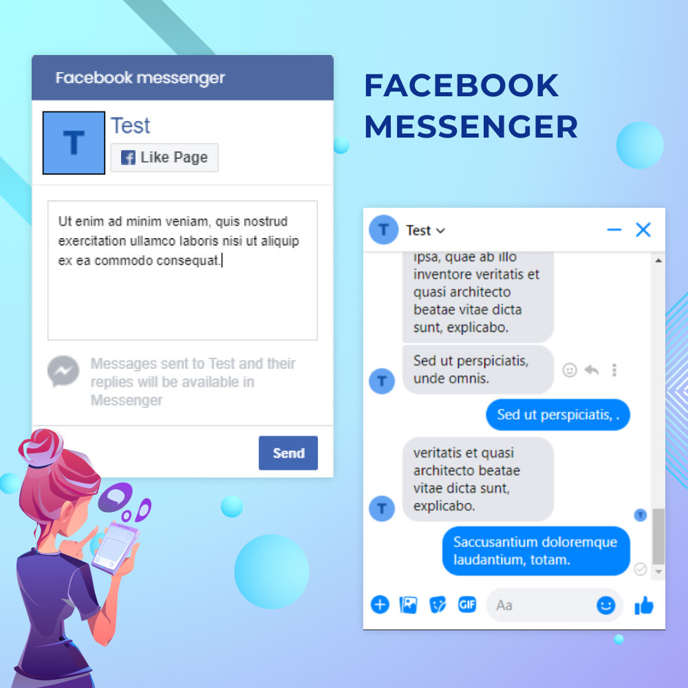 module - Support & Online-Chat - Messenger Live Chat With Customers - 1