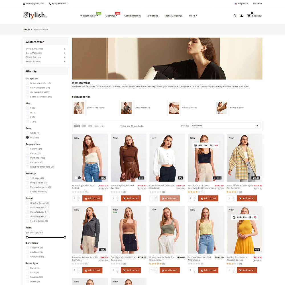 theme - Moda & Obuwie - Stylish - Fashion Clothes Super Store - 9