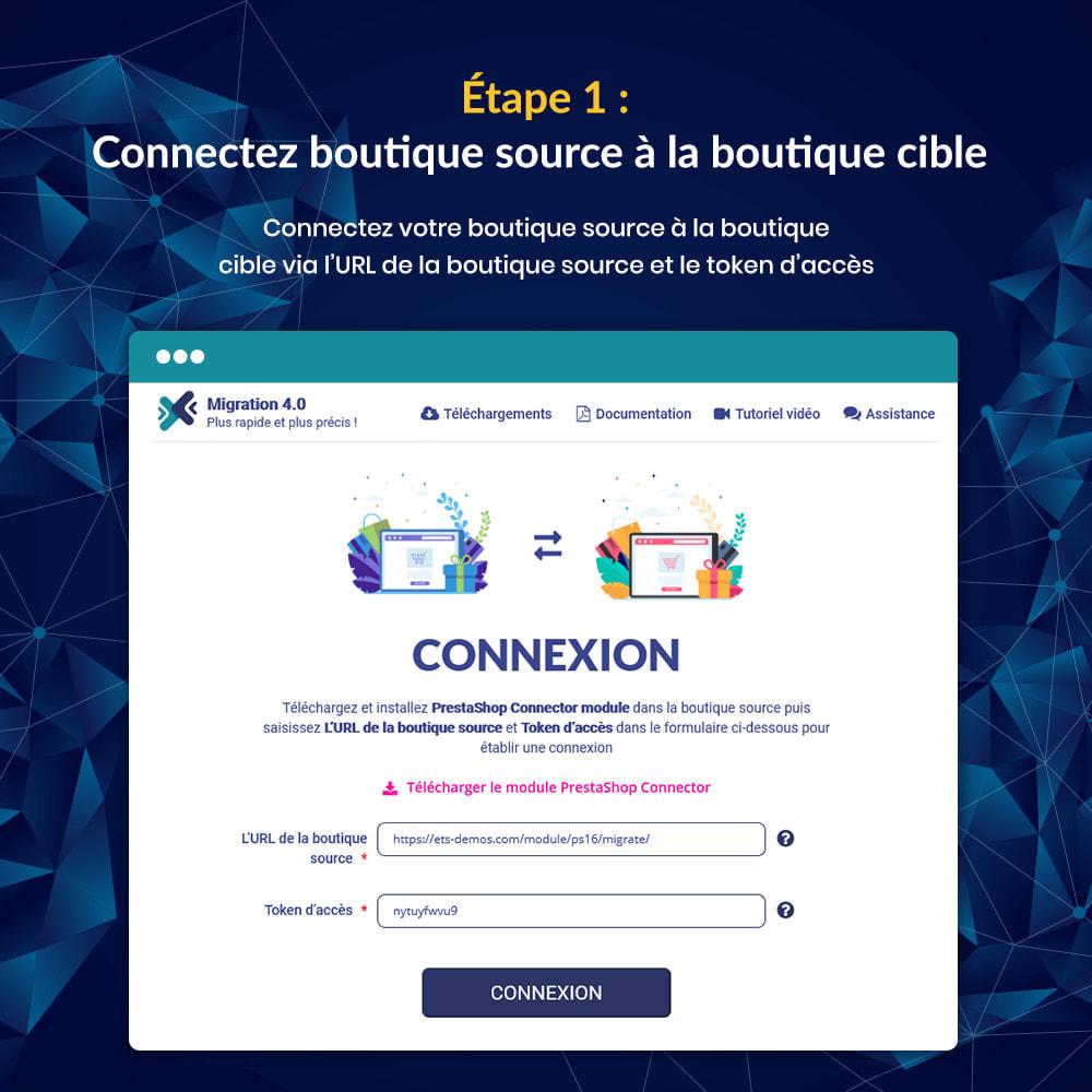 module - Migration de Données & Sauvegarde - MIGRATION 4.0 – Outil de mise à niveau et de migration - 10