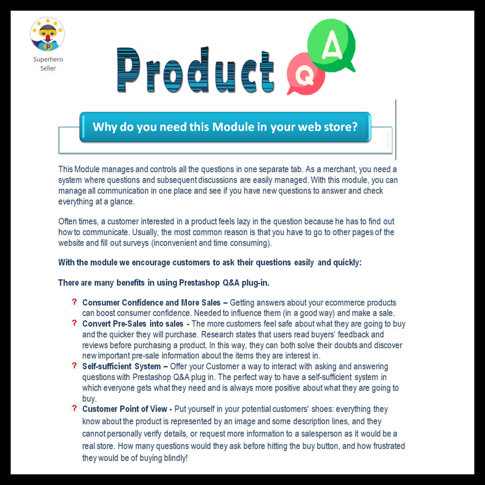 module - FAQ (Frequently Asked Questions) - Product Questions and Answers - 2