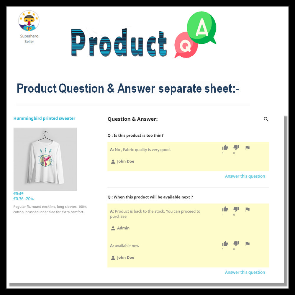 module - FAQ (Frequently Asked Questions) - Product Questions and Answers - 8