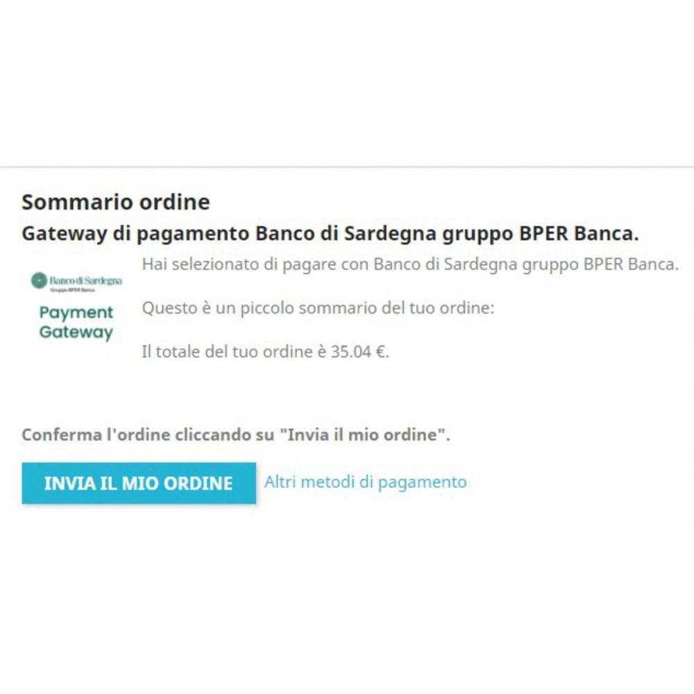 module - Pagamento con Carta di Credito o Wallet - Gateway pagamento Banco di Sardegna gruppo BPER Banca - 2