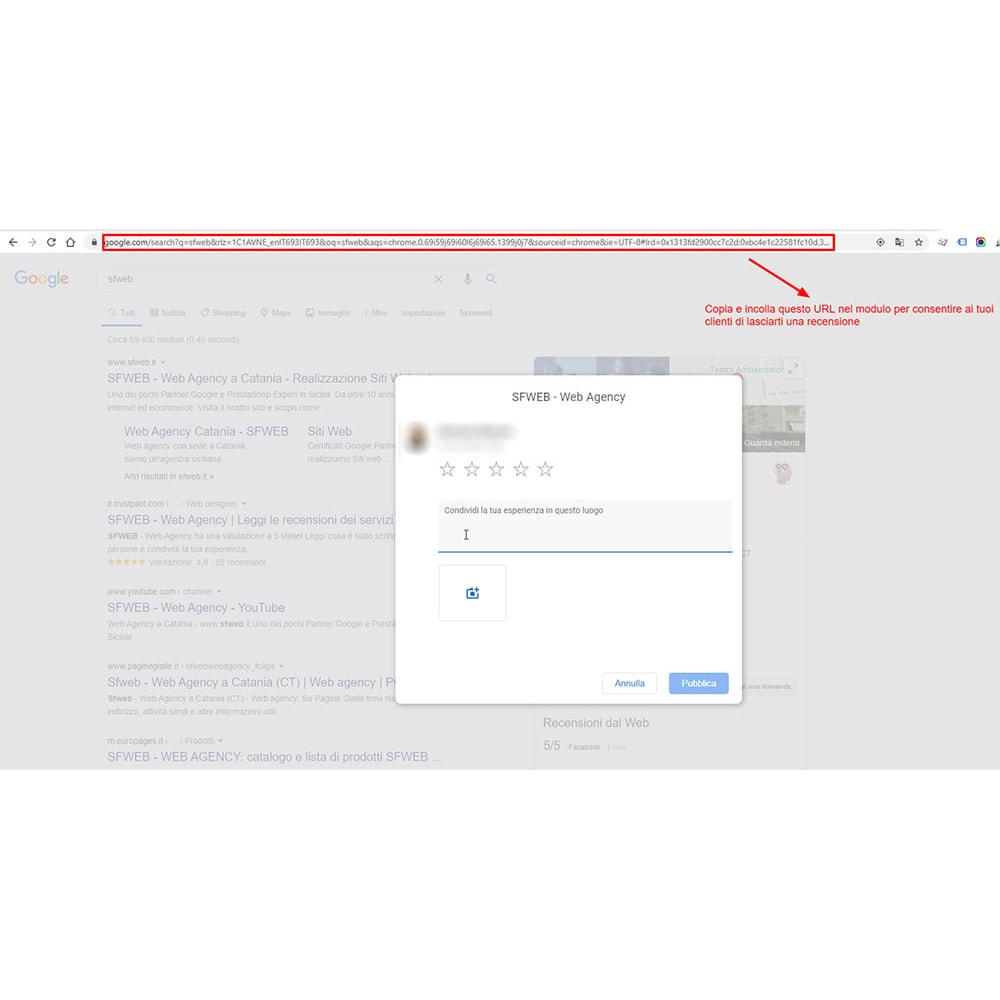 module - Recensioni clienti - Incorpora le recensioni di Google My Business - 11
