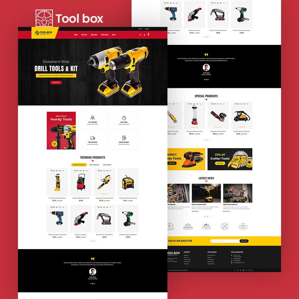 theme - Eletrônicos & High Tech - ToolBox - Drill Tools & Equipment - 6