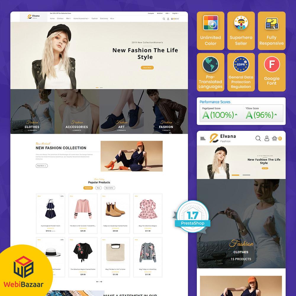 theme - Moda y Calzado - Elvana - Fashion & Clothing Shop - 1