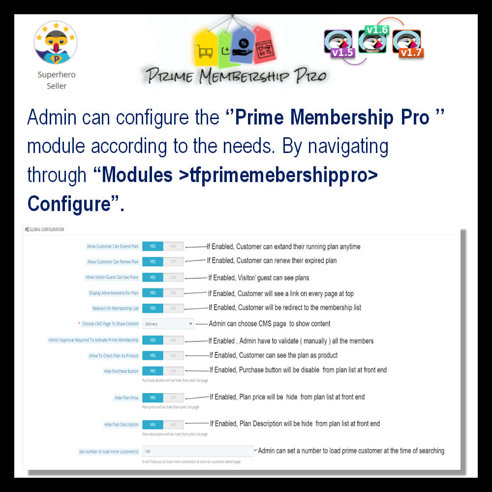 module - Recurring payment (subscription) - Prime Membership Pro - 5