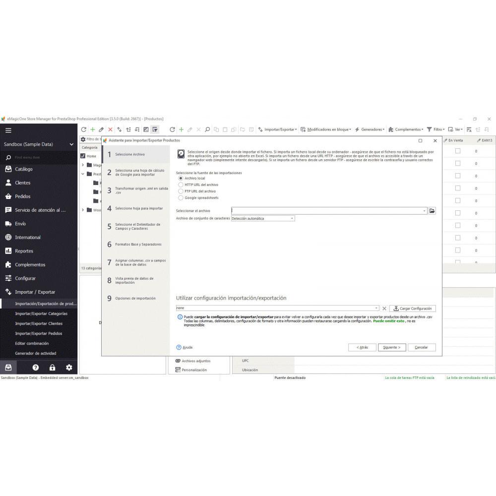 module - Integración con CRM, ERP... - Store Manager para PrestaShop - 10
